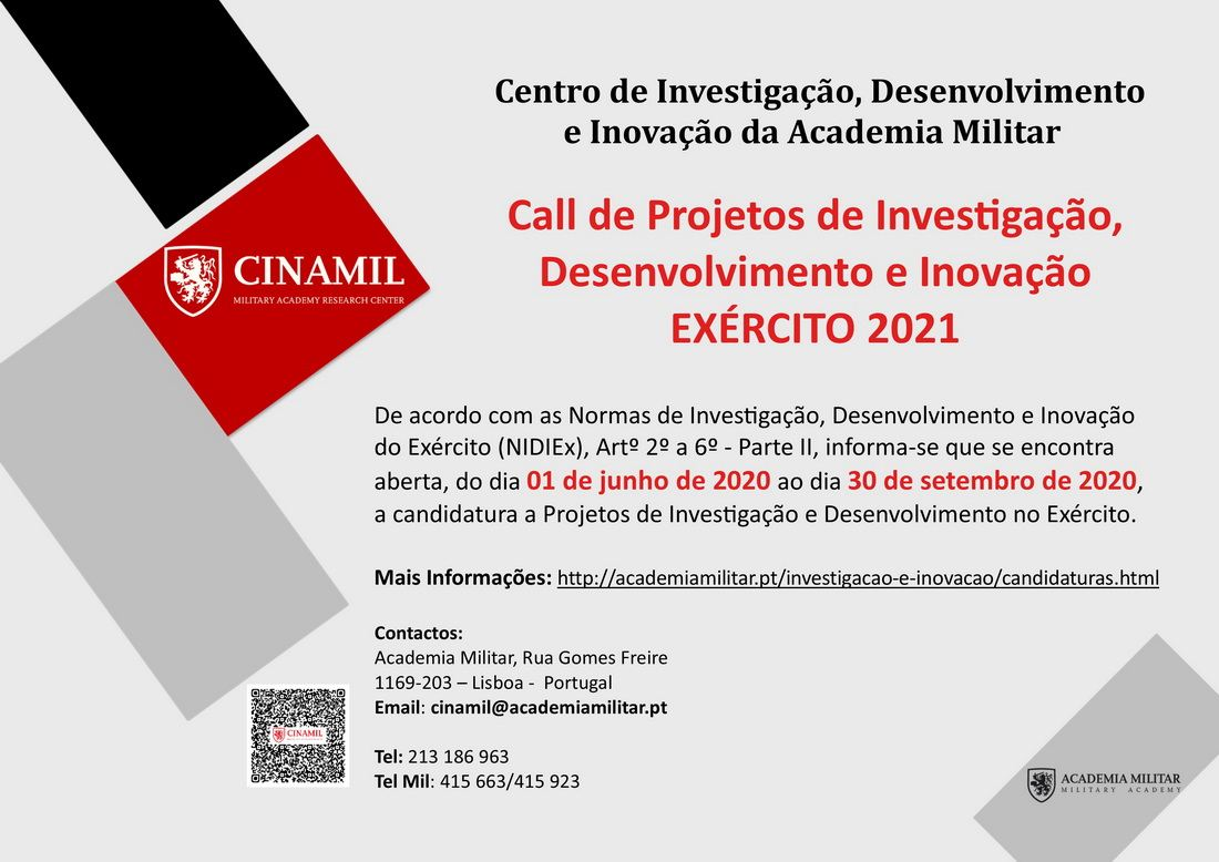 Call de Projectos CINAMIL 2021