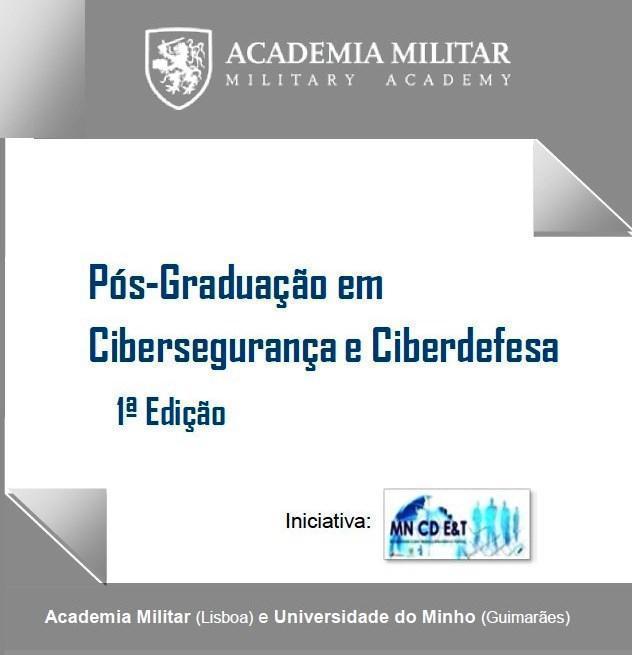 Academia Militar - PÓS-GRADUAÇÃO EM CIBERSEGURANÇA E CIBERDEFESA c60886f0083