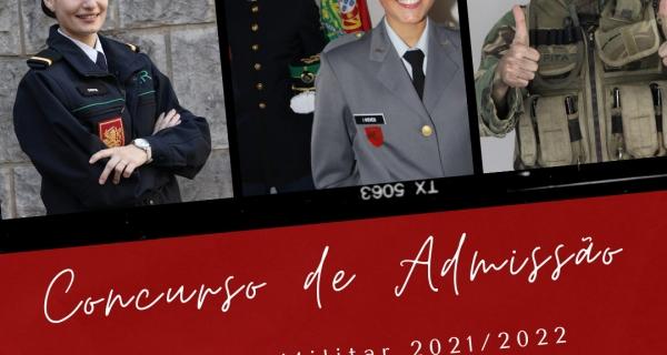 CONCURSO DE ADMISSÃO À ACADEMIA MILITAR 2021/2022
