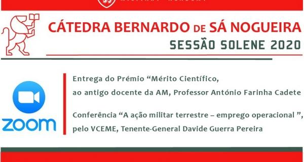 CÁTEDRA BERNARDO DE SÁ NOGUEIRA 2020