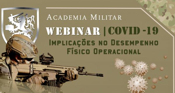 WEBINAR | COVID 19 – IMPLICAÇÕES NO DESEMPENHO FÍSICO OPERACIONAL