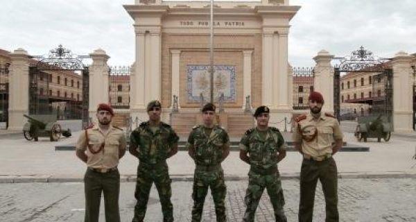 """Participação de Cadetes da Academia Militar no Exercício """"TIERRA 2016"""" da Academia General Militar - Espanha"""